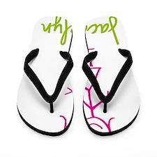 Jacquelyn-cute-stick-girl.png Flip Flops