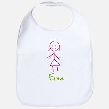 Erma-cute-stick-girl.png Bib