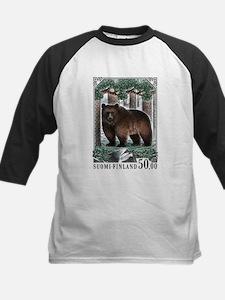 1989 Finland Brown Bear Postage Stamp Tee