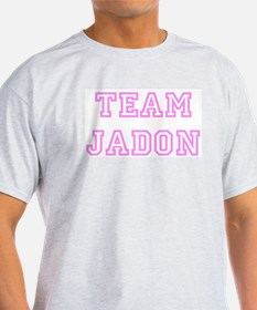 Pink team Jadon Ash Grey T-Shirt