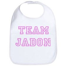 Pink team Jadon Bib