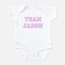 Pink team Jadon Infant Bodysuit