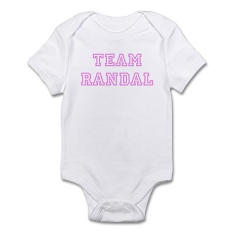 Pink team Randal Infant Bodysuit
