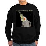 Cockatiel 4 Steve Duncan Sweatshirt (dark)