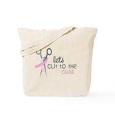 Let's Cut Tote Bag