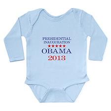 Obama Inauguration Long Sleeve Infant Bodysuit