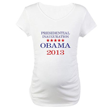 Obama Inauguration Maternity T-Shirt
