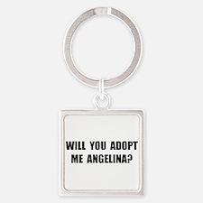 Adopt Me Angelina Square Keychain