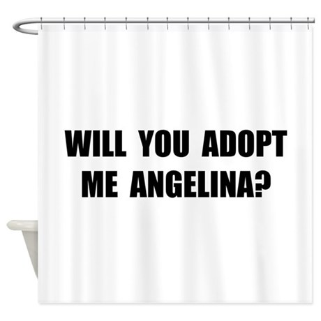 Adopt Me Angelina Shower Curtain