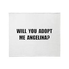 Adopt Me Angelina Throw Blanket