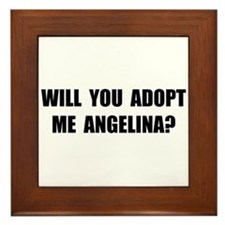 Adopt Me Angelina Framed Tile