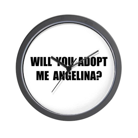 Adopt Me Angelina Wall Clock