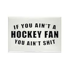 Hockey Fan Rectangle Magnet