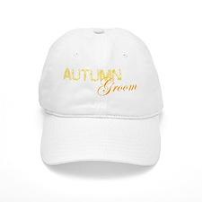 Autumn Groom Baseball Cap