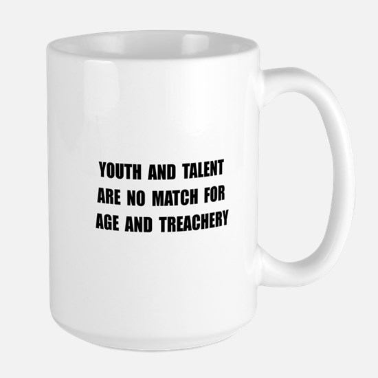 Age Treachery Large Mug