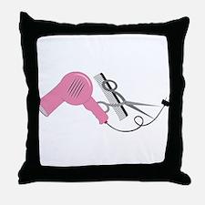 Stylist Tools Throw Pillow