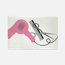 Stylist Tools Rectangle Magnet