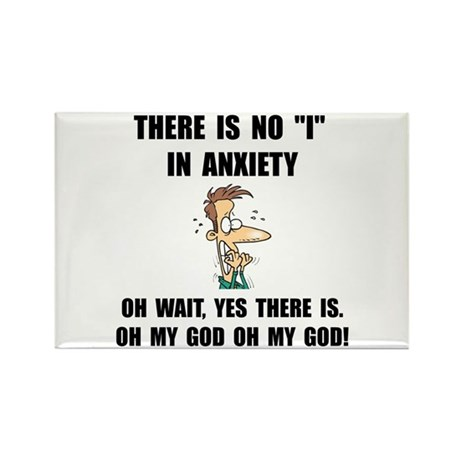 Anxiety Rectangle Magnet (10 pack)