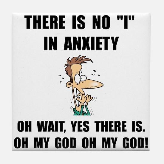 Anxiety Tile Coaster