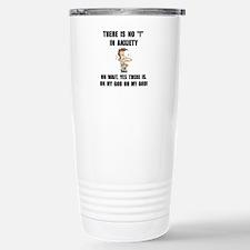 Anxiety Stainless Steel Travel Mug