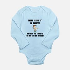 Anxiety Long Sleeve Infant Bodysuit