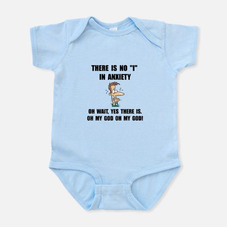 Anxiety Infant Bodysuit
