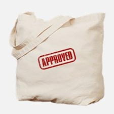 Approve Stamp Tote Bag