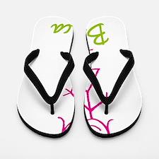 Blanca-cute-stick-girl.png Flip Flops