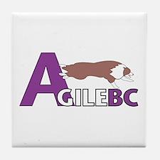 Classic AgileBC Logo Tile Coaster