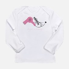 Stylist In Training Long Sleeve Infant T-Shirt