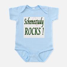 Schenectady Rocks ! Infant Bodysuit