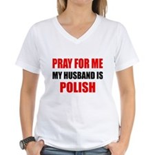 Pray Husband Polish Shirt