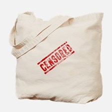 Censored Stamp Tote Bag
