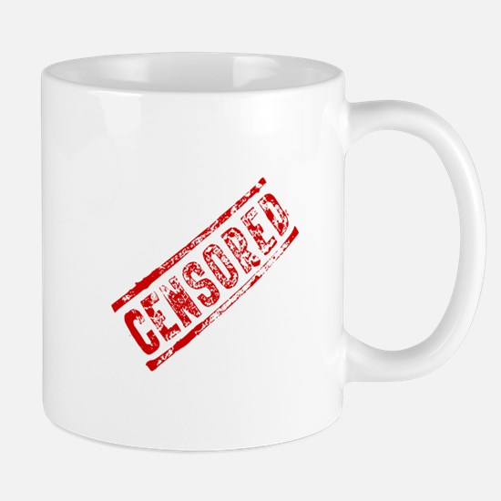 Censored Stamp Mug
