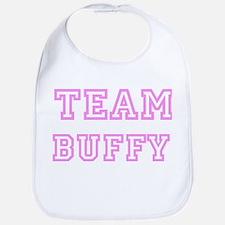 Pink team Buffy Bib