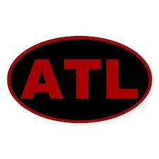 Atlanta, Georgia Oval Decal
