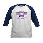 Volleyball University Kids Baseball Jersey
