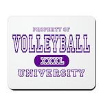 Volleyball University Mousepad