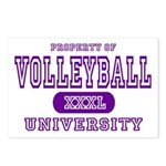 Volleyball University Postcards (Package of 8)