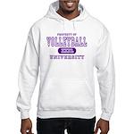 Volleyball University Hooded Sweatshirt