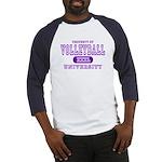 Volleyball University Baseball Jersey