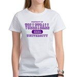 Volleyball University Women's T-Shirt