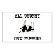 Cow Tipping Decal