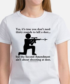 The Second Amendment Aint About Hunting Deer Women