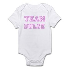Pink team Dulce Infant Bodysuit