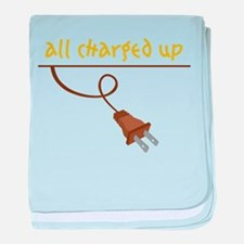 All Charged Up baby blanket