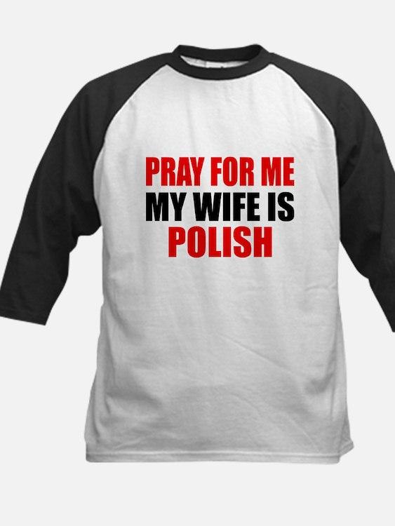 Pray Wife Polish Tee