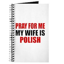 Pray Wife Polish Journal