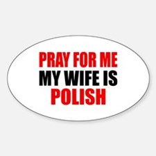 Pray Wife Polish Decal