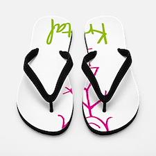 Krystal-cute-stick-girl.png Flip Flops
